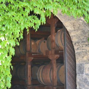 A View Of The Entrance To The Barrel Room.