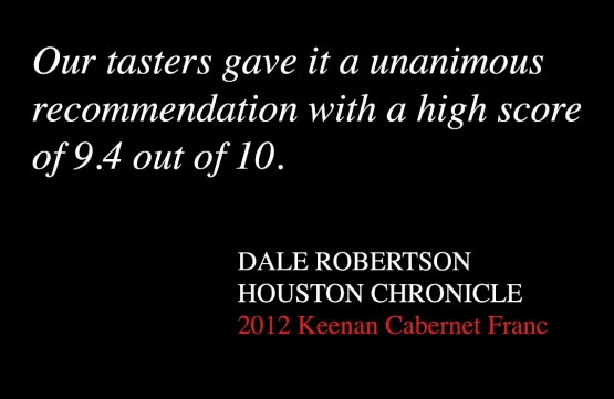Keenan Wine Review Dale Robertson Houston Chronicle