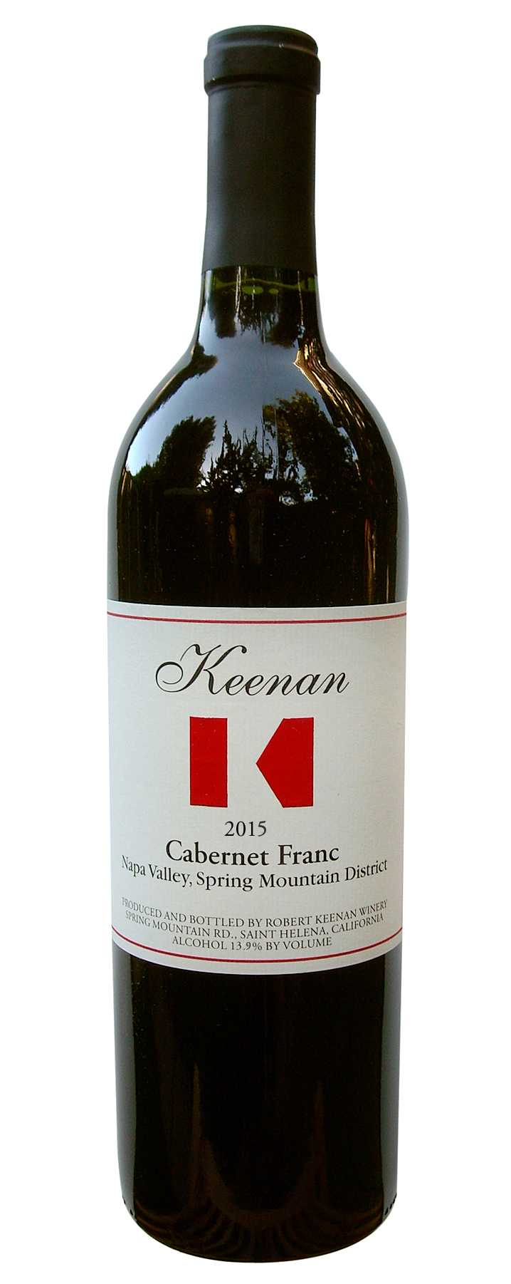 2015 Cabernet Franc, Spring Mountain District
