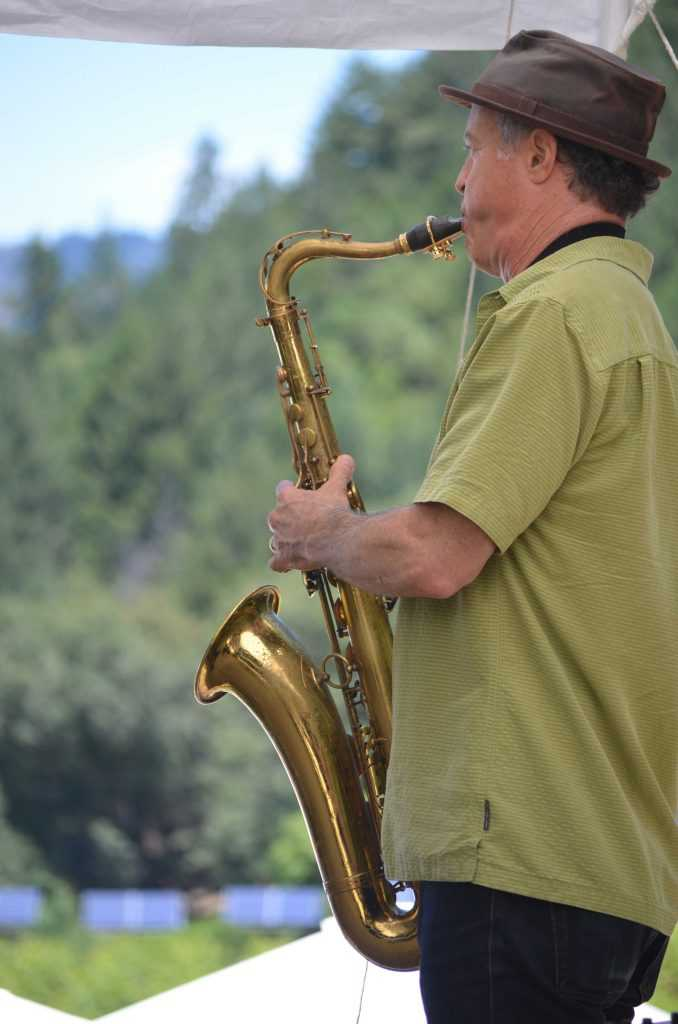 Music at Napa's best summer winery party