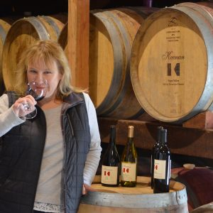 Laura March, Keenan Winery Tasting Room Manager