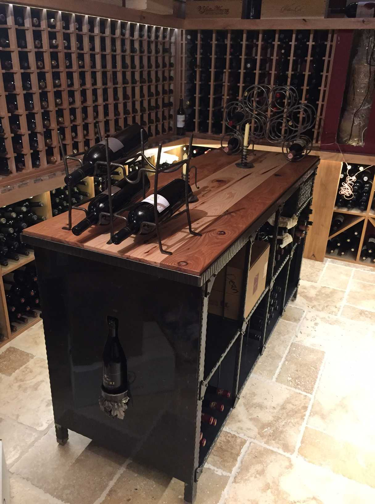 Keenan Wine Cellar In Chicago
