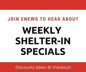 50% off specials announced weekly for club members