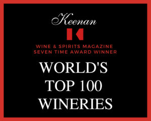 Keenan Winery awarded one of the world's top 100 wineries.